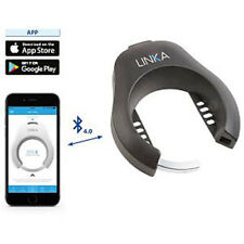 LINKA Rahmen-Fahrradschloss, Keyless, öffnen über Bluetooth, schwarz