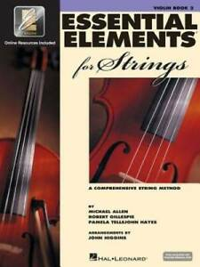 Essential Elements for Strings - Book 2 with EEi: Violin - Paperback - GOOD