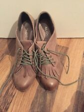 Brand New Brown Leather Shoe Boots Aldo Size 6