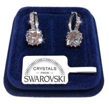 Punto Luce Orecchini donna pl. oro bianco 18K cristalli swarovski SW/g03