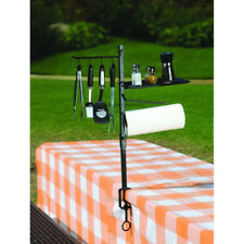 BBQ Cooking Tool Organizer Stand Holder Patio Out Door Barbecue Grill Accessory