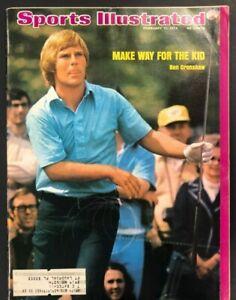 1974  FEB 11  SPORTS ILLUSTRATED MAGAZINE  GOLF/BEN CRENSHAW YOUNG WINNER CS5