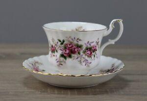 Royal Albert Lavender Rose Kaffeetasse mit Untertasse Unterteller