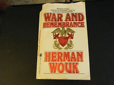 War and Remembrance by Herman Wouk (1989, Paperback)