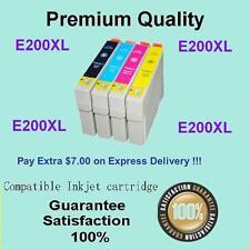 4 x Ink Cartridge 200XL for Epson XP100 XP200 XP400 XP300 XP310 XP410 Printer