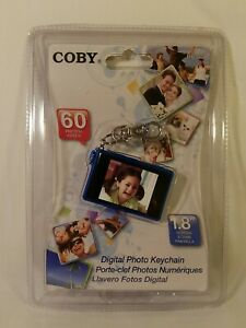 "Coby DP180 1.8""  Digital Picture Keychain HOLDS 60 PHOTOS ( BLUE)"