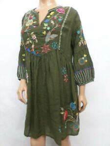 $368 NWT Johnny Was Workshop Gloria Paris Dress - 1X - OL44910821