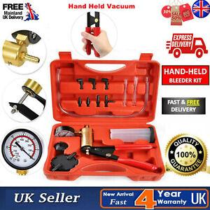Car Auto Brake Bleeder Tester Kit Vacuum Pump Motorcycle Bleeding Tool Hand Pump