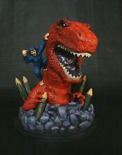 DEVIL DINOSAUR mini bust/statue~Bowen Designs~Godzilla~Fantastic Four~NIB