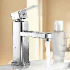Modern Style Basin Mixer Tap Single Lever Chrome Bathroom Sink Faucet