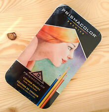 12 Prismacolor Premier Colored Pencils Tin Set New