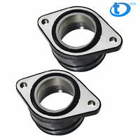 2 Pcs Carburetor Intake Manifold Boot Holder For Honda CM400C CM400E CM400T