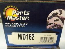 Parts Master Organic Disc Brakes Front MD162 FREE Shipping!!