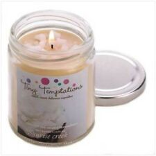 COCONUT CREAM CHEESE Creme Scented Candle in Glass Jar Long Burning Made in USA