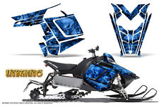 POLARIS RUSH PRO RMK 600/800 SLED SNOWMOBILE GRAPHICS KIT CREATORX INFERNO INFBL