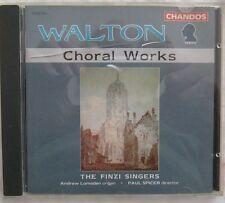 Walton Choral Works The Finzi Singers CD Chandos CHAN9222 IMPORT