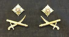 Major General Rank, Swords & Baton, Officer Rank Stars, Pips, Army, Military