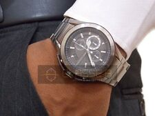 ARMANI EXCHANGE MEN'S CHRONOGRAPH WATCH WITH TACH.,  AX1403, NIB, STAINLESS BAND