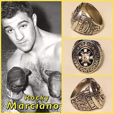 Rocky Marciano World Heavyweight Championship Undefeated 49-0 Ring Size 11