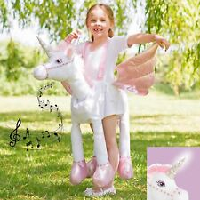 Kids Unicorn Costume With Light and Sound Fancy Dress 3 Years Horse Amscan