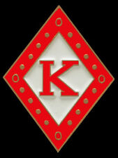 Kappa Alpha Psi Fraternity Diamond Lapel Pin-New!