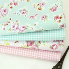Rosa Confección Textil Cuadros Tela De Algodón 157cm Ancho Tapicería