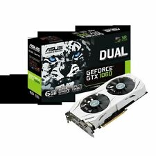 Schede video e grafiche ASUS NVIDIA GeForce GTX 1060 per prodotti informatici PCI express x16