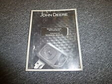 John Deere SST16 Spin Steer Lawn Tractor Shop Service Repair Manual TM1908
