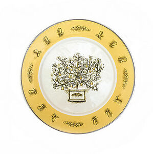 Tin Pear Tree Plate