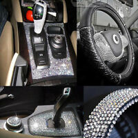 918pcs 3mm Car Rhinestone Stickers Car DIY Decal Decor Crystals Glitter Sheets