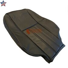 08-11 Chrysler Town&Country Driver Lean Back Leather Perf Vinyl Seat Cover Black