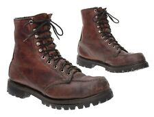 RED WING Boots 9 D Mens Moc Toe Leather Waterproof Deer Elk Hunting Boots Work