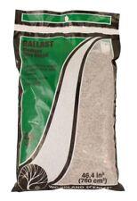 Woodland Scenics Grey Blend Ballast covers approximately 43.3 cu in (709 cu cm)