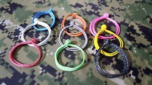 1.75mm dyneema soft  shackles mini soft shackles  9 colors 4 pack