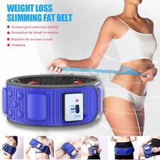 Vibration Waist Massage Slimming Belt Weight Loss Body Fat Burner AU Stock