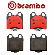 For GS300 GS400 IS300 SC430 Lexus Rear Brake Pad Set Ceramic Shims Lube Brembo