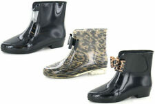 Unbranded Block Heel Rubber Boots for Women