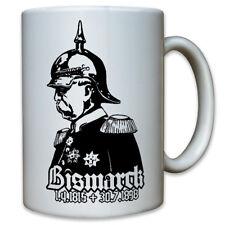 Otto von Bismarck 1865-1898 Pickelhaube Preußen Kanzler - Tasse Becher #10298
