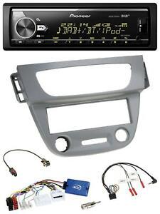 Pioneer Bluetooth USB DAB Lenkrad Autoradio für Renault Megane 3 2012-2014 grau