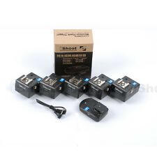 Radio Wireless Remote Control Hot Shoe Trigger PT-04 for Pentax Camera+Flash—5RX