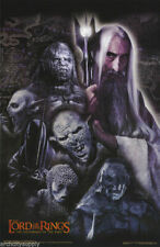 Poster:Movie Repro: Lord Of The Rings - Saruman With Orcs - #3523 Nm