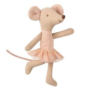 Maileg Ballerina Maus kleine Schwester Ballett Tutu Nostalgie beige rosa