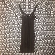 NWT $225 Brown Bailey 44 Dress With Chain Detail Size XS.