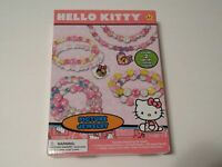 Hello Kitty Childs Picture Jewelry Bead And Charm Craft Fun Birthday Gift NEW