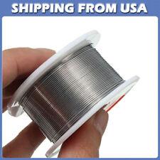 Fine Solder Wire 0.6mm 60/40 2% Flux Reel Tube Tin lead Rosin Core Soldering POW
