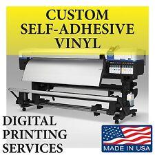 Custom Printed Window Sign Vinyl Decals Stickers Self-adhesive Lamination