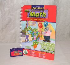 Leap Frog / Leap Start Pre Math - Tad Goes Shopping - LeapPad Book & Cartridge