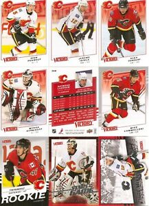2008-09 UD Upper Deck Victory Calgary Flames Master Team Set (15)