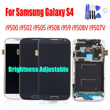 For Samsung S4 i9500 i9502 LCD Display + Touch Screen Digitizer Assembly Replace