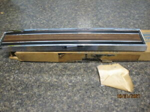 1967 FORD GALAXIE 500 GLOVE BOX DOOR NOS TRIM MOLDING BRAND NEW FOMOCO RARE FIND